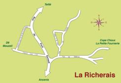 Plan du lieu-dit «La Richerais»