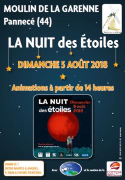 Affiche La nuit des étoiles 2018