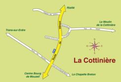 Plan du lieu-dit «La Cottinière»